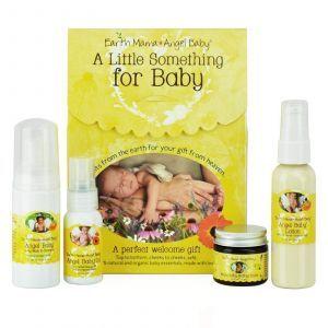 Подарочный набор для новорожденных, Earth Mama Angel Baby, 4 шт.
