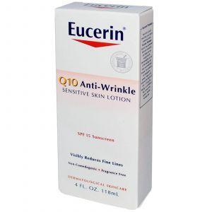 Солнцезащитный лосьон, Eucerin, Q10, SPF 15, (118 м