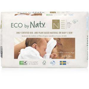 """Органические подгузники """"ECO BY NATY"""", Diapers 0 New Born, Eco by Naty, размер 0 New Born, до 4,5 кг, 25 шт"""