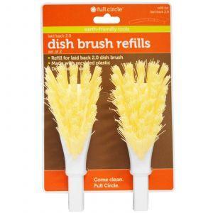 Сменные головки для посуды, Dish Brush Refills, Full Circle Home LLC, 2 шт