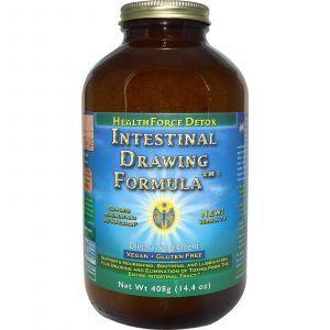 Очищение желудочно-кишечного тракта, Intestinal Drawing Formula, HealthForce Superfoods, 408 г