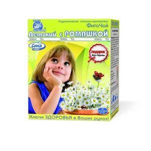 Фиточай Соня, Ключи здоровья, детский, ромашкой, 20 фильтр-пакетов по 1.25 г