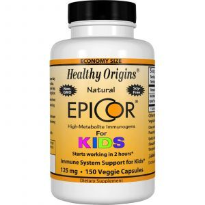 Эпикор, EpiCor for Kids, Healthy Origins, 125 мг, 150 капсу