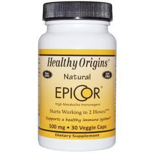 Эпикор, Healthy Origins, 500 мг, 30 капсул