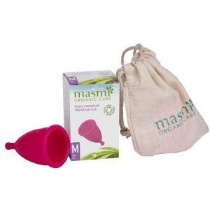 Менструальная чаша Размер M (для женщин в возрасте до 25 лет, не рожали вагинально), Masmi