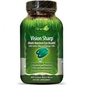 Витамины для глаз, Irwin Naturals, 42 капсул