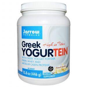 Протеин с греческим йогуртом (французская ваниль), Jarrow Formulas, 446 гр.