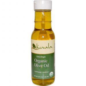 Оливковое масло холодного отжима, Extra Virgin Organic Olive Oil, Kevala, 236 мл
