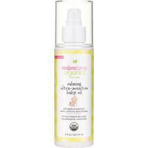 Успокаивающее масло для чувствительной кожи ребенка, Mambino Organics, 150 мл