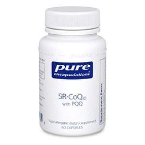 SR-Коэнзим Q10 c Пирролохинолинхиноном, SR-CoQ10 with PQQ, Pure Encapsulations, 60 капсул