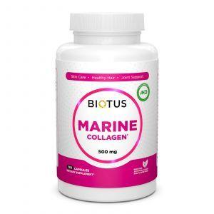 Морской коллаген, Marine Collagen, Biotus, 120 капсул