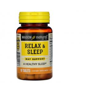 Спокойный сон, Relax & Sleep, Mason Natural, 90 таблеток