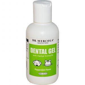 Стоматологический гель для животных, Dr. Mercola, 113,4 г