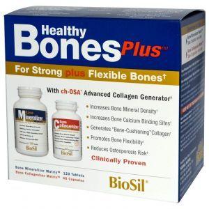 БиоСил, Natural Factors, прочность костей, 2 части