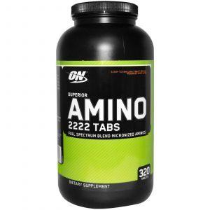 Амино улучшенный 2222, Optimum Nutrition, 320 таблеток