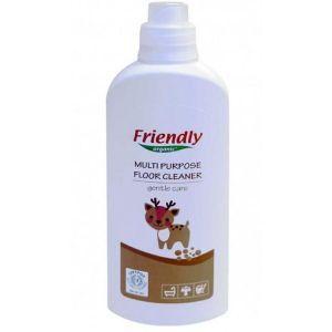 Универсальное средство для всех видов пола и кафеля, Multi Purpose Floor Cleane, Friendly Organic, органическое, 1000 мл