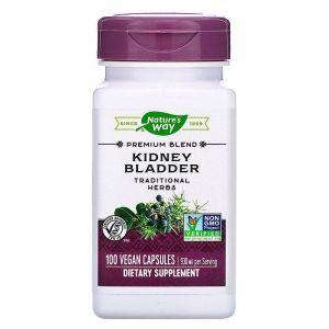 Здоровье почек и мочевого пузыря, Kidney Bladder, Nature's Way, 465 мг, 100 кап.