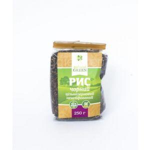 Рис черный цельнозерновой нешлифованный, NATURAL GREEN, 250 г