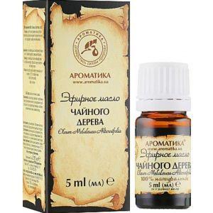 Эфирное масло чайного дерева, Ароматика, 5 мл