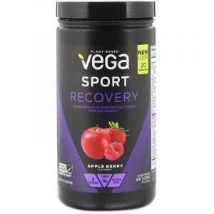 Восстановление после тренировки, Recovery Accelerator, Vega, яблочно-ягодный вкус, 540 г