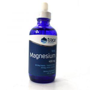 Ионный магний, Ionic Magnesium, Trace Minerals Research, 400 мг, жидкость, 118 мл