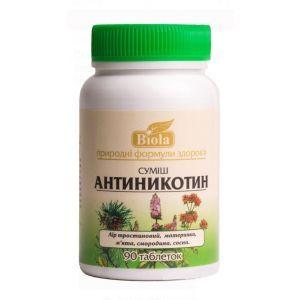 Смесь Антиникотин, Biola, 90 таблеток