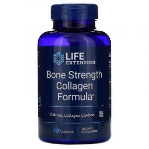Прочность костей, Bone Strength Formula, Life Extension, 120 капсу