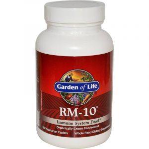 Укрепление иммунитета, RM-10, Immune System Food, Garden of Life, 60 вегетарианских капсул