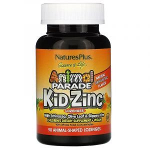 Цинк для детей, Nature's Plus, 90 жеват. конфет