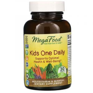 Витамины для детей, Kid's One Daily, MegaFood, 1 в день, 30 таблеток (Default)Витамины для детей, Kid's One Daily, MegaFood, 1 в день, 30 таблеток (Default)