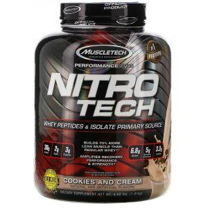 Сывороточный протеин, печенье и сливки, Muscletech, 1.80 кг.
