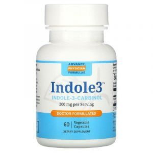 Индол 3 Карбинол, Advance Physician, 200 мг, 60 капсул
