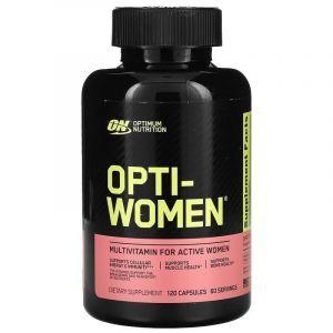 Витамины для женщин комплекс (Opti-Women), Optimum Nutrition, 120 капсул