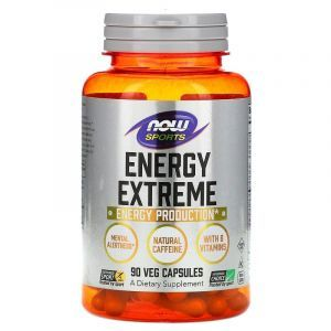 Энергетическая формула, Now Foods, 90 капсул