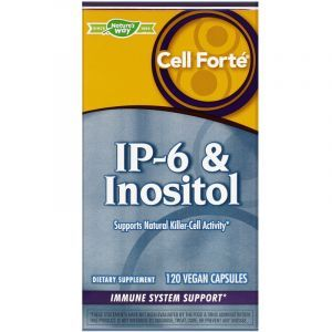 Фитиновая кислота (IР-6 инозитол), IP-6 & Inositol, Nature's Way, 120 капсул