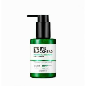 Очищающее средство против чёрных точек, Bye Blackhead Bubble Cleanser, Some By Mi, кислородное, 180 мл