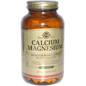 Магний Кальций, Solgar, 250 таблеток