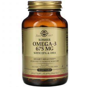 Омега-3, рыбий жир, High Concentrate Omega-3, Swanson, 120 гелевых капсул