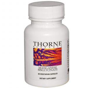 Марганец, Thorne Research, 60 кап.